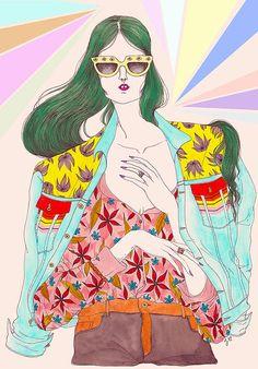 JEREMY COMBOT fashion illustrator and designer