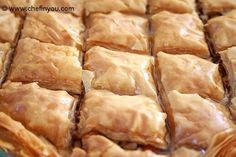 I've always wanted to make Baklava... why not try and make Turkish baklava :)