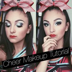 Cheer Makeup Tutorial|Santanna Garcia