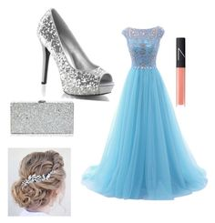 """Prom"" by brookiea on Polyvore featuring beauty, Milly and NARS Cosmetics"