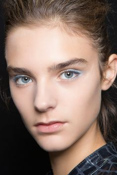 Consider these fresh beauty looks for summer at @stylecaster | pastel lining the outer third of the lashline