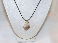 Natural Mini Herkimer diamond Druzy pendant by DeanasQuiltsandMore, $25.00