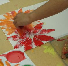 3rd Deep Space Sparkle – Poinsettia Art Lesson