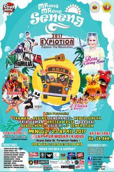 AYO rapatkan barisan ke Event !!! MRONO MRENE SENENG EXPLOTION 2017 MINGGU, 23 APRIL 2017 @LAPANGAN PURWOSARI KUDUS (Depan Balai Ds. Pur...