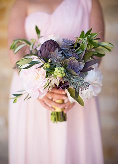 rustic wedding bouquet | blog.theknot.com