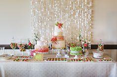 カラフルなデザートテーブル|コートニーBowlden写真|グラマー&グレイス