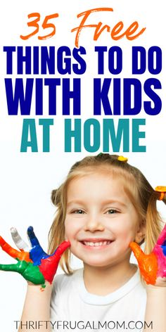 Check out this list of free things to do with kids at home! Creative ideas that can be done indoors without much prep work and few supplies. Perfect for rainy days and school breaks. Craft Activities For Kids, Infant Activities, Family Activities, Kids Crafts, Free Printable Puzzles, Bored Kids, Learn A New Language, Boredom Busters, Our Kids