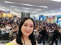 """Francine Carrel S. Diaz on Instagram: """"Thank you SM City Tarlac! I had so much fun po. ❤️ And sa mga taga Tarlac salamat po for waving at me kanina hehe and for smiling sakin,and…"""""""