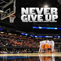 """Love this. """"Never give up"""" 