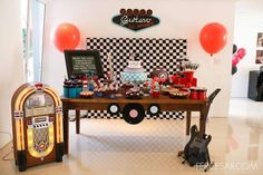 Rock & roll Birthday Party Ideas | Photo 9 of 28