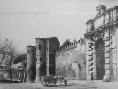 Roma, Porta S. Old Photos, Vintage Photos, Italy Pictures, War Photography, Travel And Tourism, Ancient Rome, See Picture, Italy Travel, Places To Visit