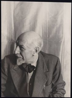 Luigi Pirandello(1867-1936) - Italian dramatist, novelist, poet and short story writer. Nobel Prize Literature 1934. Photo by Carl Van Vechten.