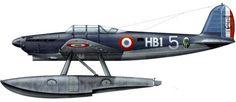 [Latécoère] Profil en couleur du Latécoère 298 - hydravion torpilleur et reconnaissance (1938), DR.