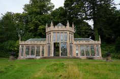Gothic Camellia house Culzean Castle. This is like the best greenhouse ever