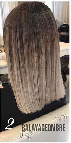 I've been wanting some like that for so long .- Llevo tanto tiempo queriendo unos así… I've been wanting some like that for so long … - Brown Hair Balayage, Brown Blonde Hair, Hair Color Balayage, Brunette Hair, Silver Hair Highlights, Pretty Hairstyles, Straight Hairstyles, Medium Hair Styles, Short Hair Styles