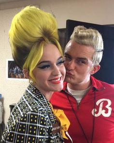 Katy Perry and Orlando Bloom tonight #Halloween