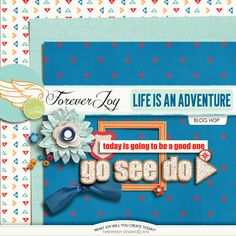 Quality DigiScrap Freebies: Life is an Adventure tiny kit freebie from Forever Joy