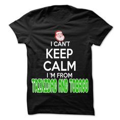 Keep Calm Trinidad and Tobago... Christmas Time - 99 Co - #appreciation gift #gift certificate. SAVE => https://www.sunfrog.com/LifeStyle/Keep-Calm-Trinidad-and-Tobago-Christmas-Time--99-Cool-City-Shirt-.html?68278