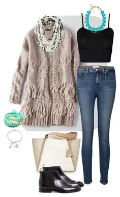 """60-3"" by afashionpage on Polyvore featuring Akris, American Eagle Outfitters, Paige Denim, WearAll, Jenni Kayne, Towne & Reese, Ruby Rocks, Bling Jewelry, closetfullofoutfits and afashionpage"