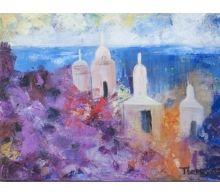 Torres Blancas #arte #oleo #pintura #cuadros #arteizate