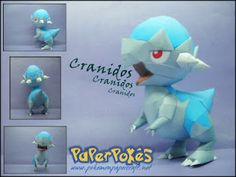 Easy Pokemon Papercraft | March 2012 | Papercraft Paradise | PaperCrafts | Paper Models | Card ...