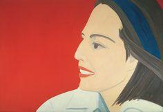 Alex Katz - The Red Smile - 1963