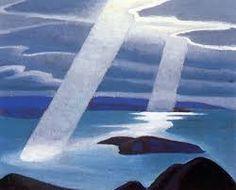"Lawren Harris ""Lake Superior Sketch II"" Canadian Group of Seven"