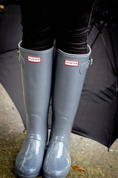 Hunter Boots  ♡ #rainboots