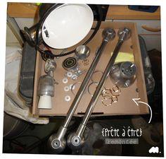 Minigougue: Rénovation d'une lampe Jieldé !