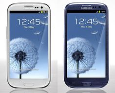 Finally a new phone! Hers and His - Samsung Galaxy S3, excited to use it :)