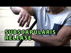 3 Most Gruelling Rotator Cuff Releases | Subscapularis - YouTube