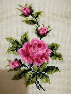 1 million+ Stunning Free Images to Use Anywhere Crochet Stitches Patterns, Beading Patterns, Embroidery Patterns, Cross Stitching, Cross Stitch Embroidery, Hand Embroidery, Cross Stitch Rose, Cross Stitch Flowers, Cross Stitch Designs