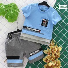 Vietnam Children Clothing Export Manufacturers - veco.com.vn - 84 903625757 Toddler Boys, Kids Boys, Fashion 2020, Kids Fashion, Armani Sweatshirt, Boy Outfits, Summer Outfits, Summer Boy, Boys T Shirts