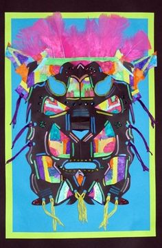Jenna148's art on Artsonia; grade 3; Donna Staten lesson
