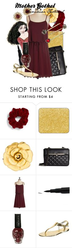 """""""Mother Gothel Summer Festival"""" by amarie104 ❤ liked on Polyvore featuring L. Erickson, shu uemura, Disney, Chanel, Brooks Brothers and Buffalo"""