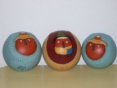 Terrye French design on baseballs! Love it!