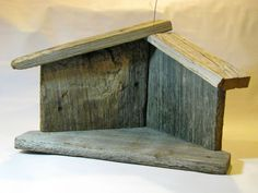 barn wood projects - for Willow Tree nativity set? Willow Tree Nativity, Nativity Creche, Nativity Stable, Nativity Crafts, Christmas Nativity, Primitive Christmas, Rustic Christmas, Christmas Art, Christmas Projects