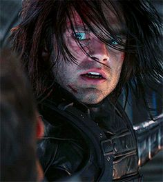 At that exact moment, Bucky won over the Winter Soldier ans je realized that he was beating Steve, of all people