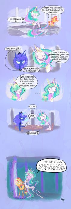 MINI COMIC: Princess of the S- by yuji8sushi on deviantART  She could have been... Princess of the Flame? Or Flare?