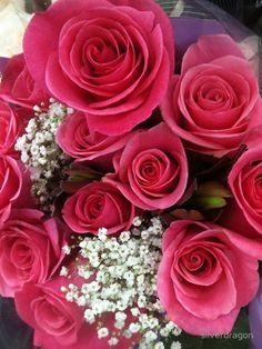"""Pink Rose Bouquet"""