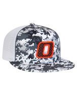 8D8 Digital Camo Trucker Mesh Universal Fit Hat by Pacific Headwear 22b7d4ac5869