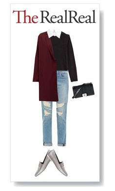 """Fall Style With The RealReal: Contest Entry"" by alina10d-w ❤ liked on Polyvore featuring мода, Chanel, Steffen Schraut, Frame Denim и American Vintage"