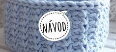 Hranatý košík NÁVOD – Veľká vlna Knit Crochet, Crochet Hats, Merino Wool Blanket, Doilies, Macrame, Basket, Beanie, Homemade, Knitting