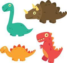 Clipart Dinossauros - Cantinho do blog