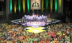 """You read a lot about these fraternity fundraisers, and it's easy to get a little jaded when you see """"$10,000 Raised for X Cause,"""" or """"X Fraternity Puts on Car Wash"""" or anything of that ilk. But Penn State University's THON dance marathon—which has been around for 40 years and now involves over 15,000 students dancing for 48 hours straight—shattered all its fundraising records this year, generating $12,374,034.46 for childhood cancer research."""