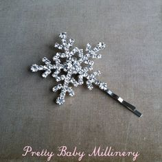 Winter hair accessories Winter Wedding hair by PrettyBabyMillinery, $22.00