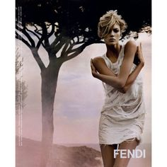 Fendi Ad Campaign Spring/Summer 2010 Shot #6 ❤ liked on Polyvore