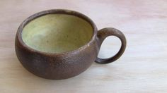 Large Ceramic Cup or Soup Bowl Rustic by SeedlingClayworks on Etsy, $29.00