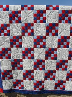 Red Sox by Jessica's Quilting Studio, via Flickr