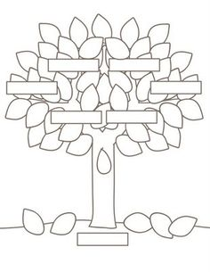 family tree printable for a home school lesson c